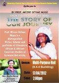 Micere Githae Mugo: Lecture at the University of Nairobi