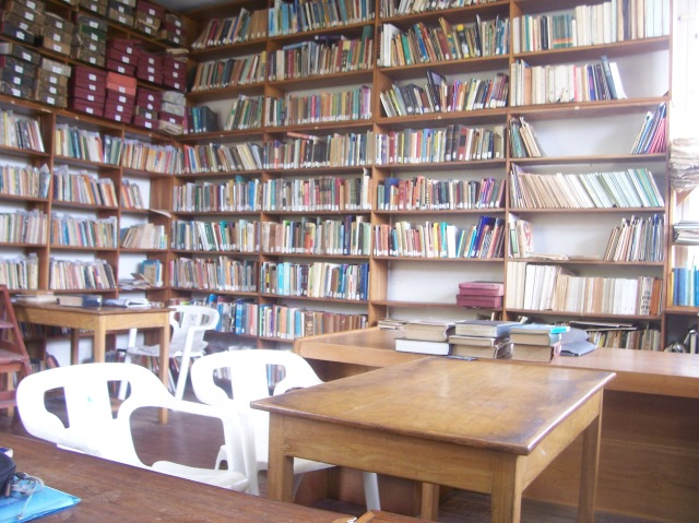 J.F.A. Ajayi's personal library, that I have the privilege to visit.