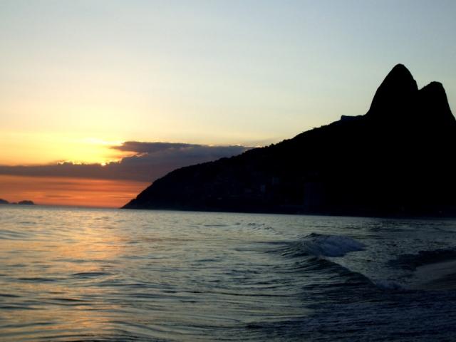 Ipanema beach, in Rio de Janeiro