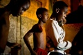 Children dancing Funk at Cantagalo (Rio de Janeiro -Brazil)