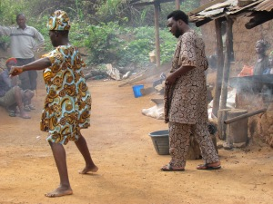 Filming 'My Name, My Identity' in Ile-Ife