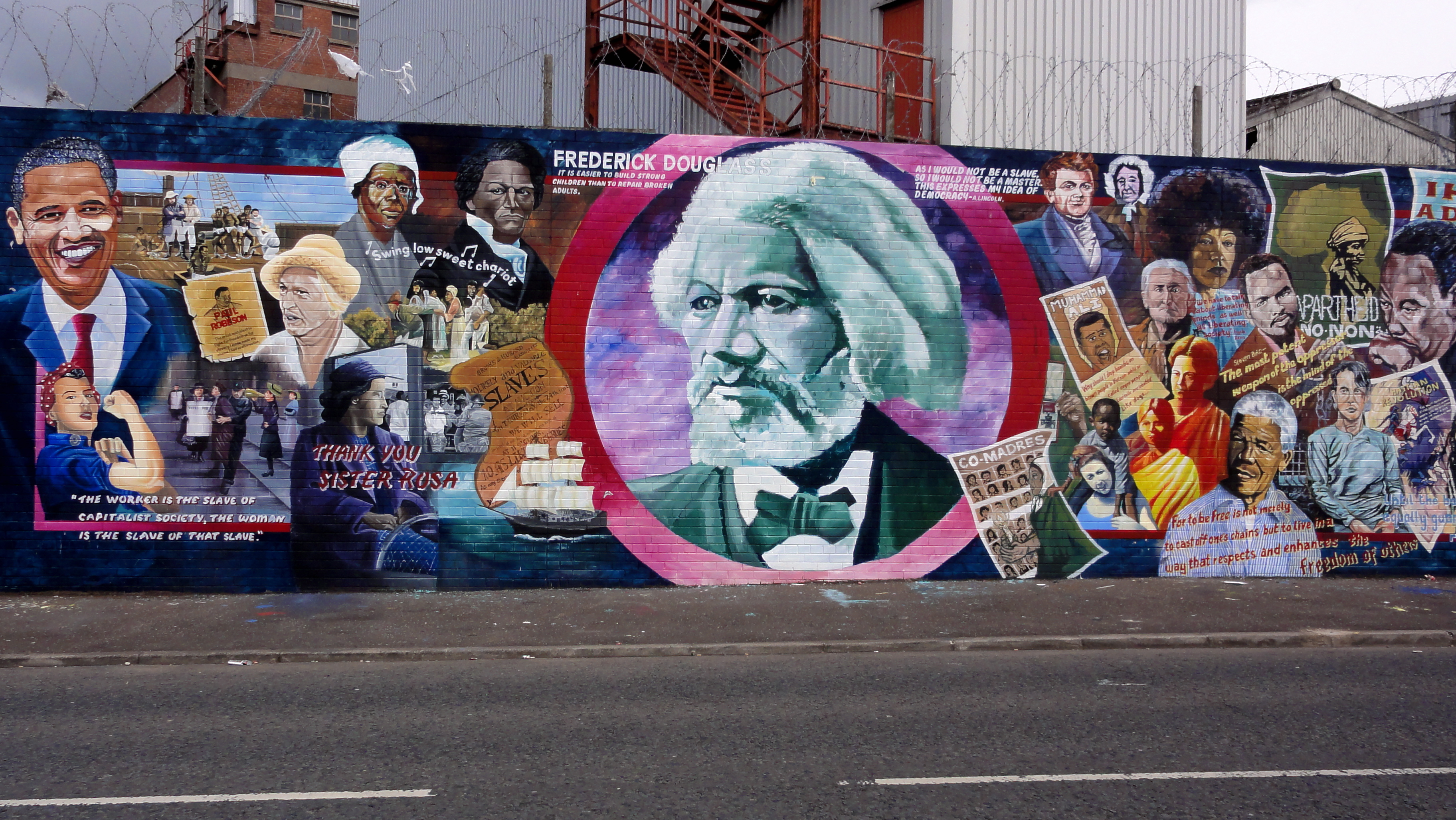 Anticolonial visions revisiting paul gilroy s the black for Black history mural