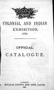 catalogue colonial exhibition