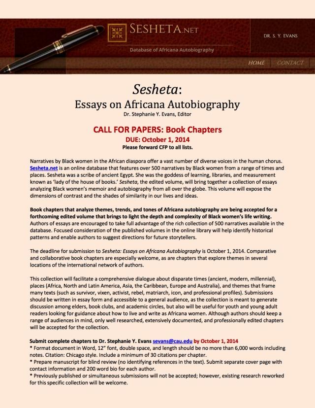 CFP Africana biography
