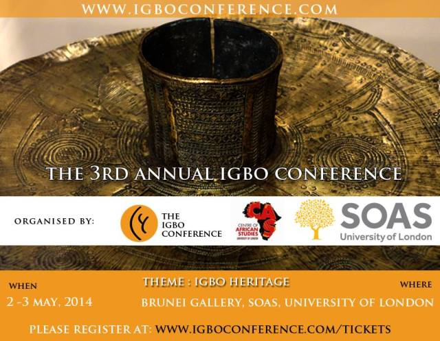 Igbo Conference 2014 Poster