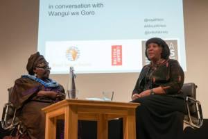 Ama Ata Aidoo and Wangui wa Goro © Africa Writes