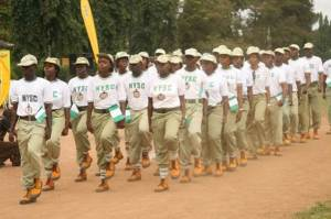 National Youth Service Corps on parade