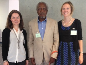 Rachel Knighton, Walter Bgoya and Kate Haines, ASAUK 2014