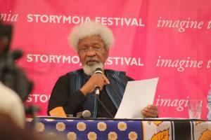 Wole Soyinka at Storymoja Festival