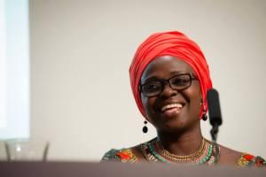 Jennifer Nansubuga Makumbi at Africa Writes © Yves Salmon