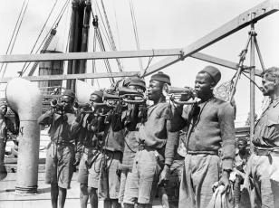 'The Nigeria Regiment during the First World War' with the permission of IWM