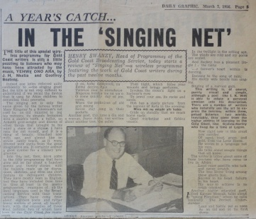 Singing Net Daily Graphic