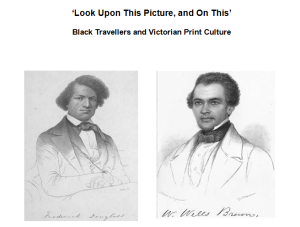 Frederick Douglass and William Wells Brown – Alasdair Pettinger's keynote presentation.