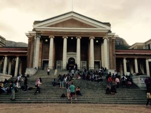 Jameson Hall, UCT. Photo: Sarah Middleton.