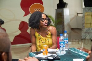 Taiye Selasi at the Fiction Writing Workshop © Aké Arts & Book Festival