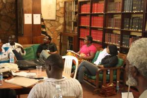 'Publishing Translations' with Felwine Sarr, Moses Kilolo and Edwige-Renée DRO