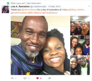 African Travel Writing Encounters Conference, 2016