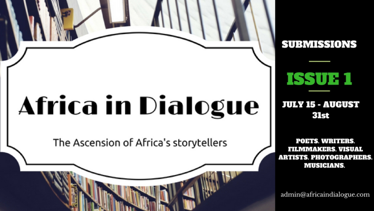 Call for Submissions: Africa in Dialogue 1st Issue, deadline
