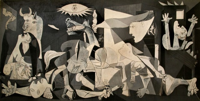 Guernica 1937  Pablo Picasso 1881-1973 Spain Spanish