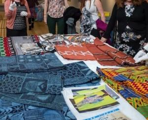 AfricanTextile wikithon_Brighton Digital Fest