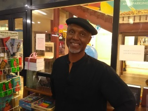 Okey Ndibe at Patabah Bookstore