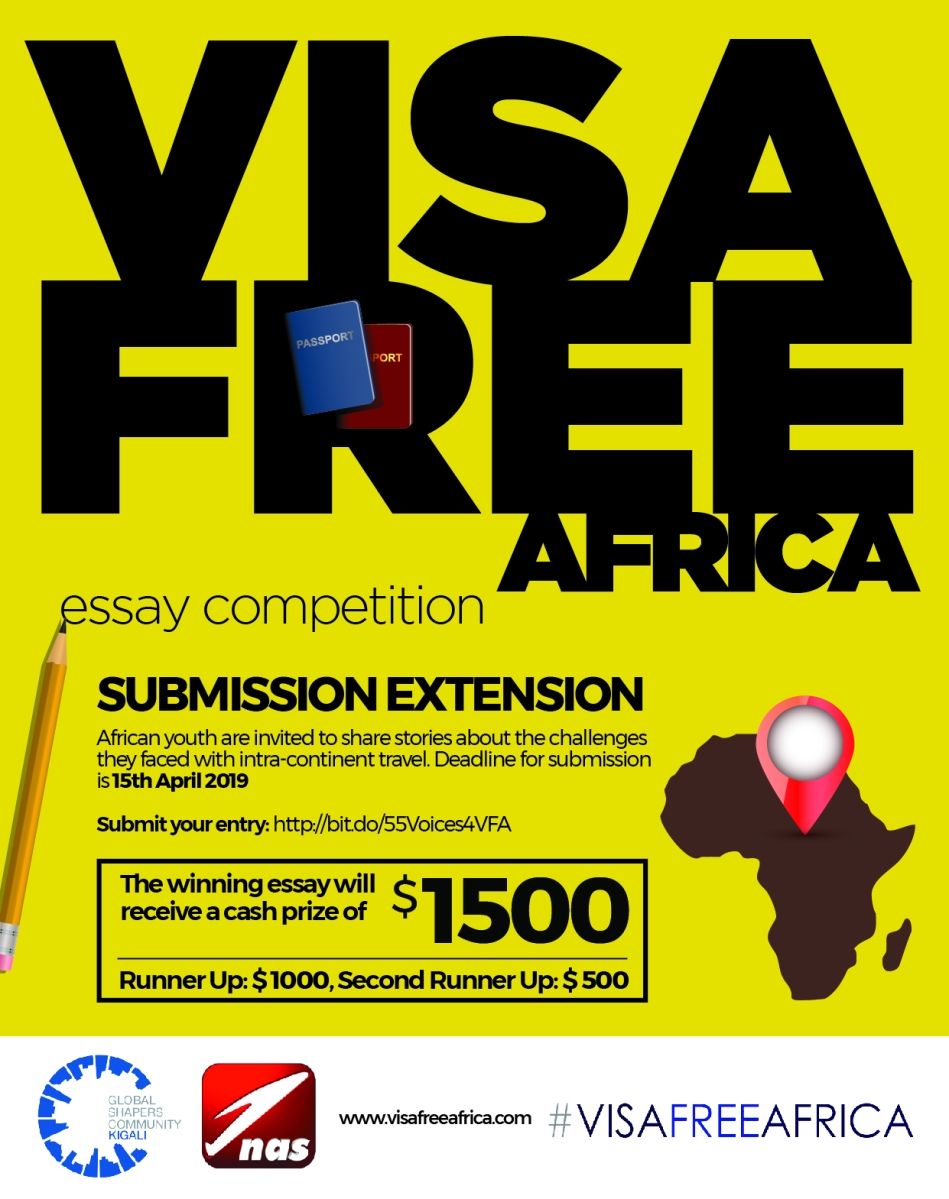 Call for Submissions: Visa Free Africa (Deadline: April 15) |