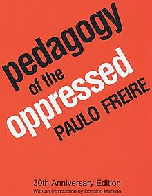 Cover of Paulo Freire's Pedagogy of the Oppressed