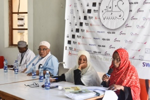 Panel of elders at Swahili Litfest 2019