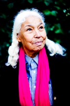 Nawal El Saadawi for features.Photograph by Felix Clay.