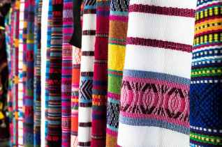 close up photo of assorted textiles