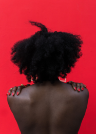 Marc Posso, Afro Apple, 2019, 90x60 cm Photography
