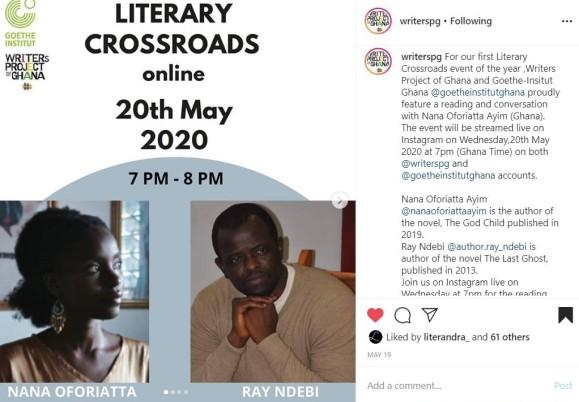WPG Literary Crossroads