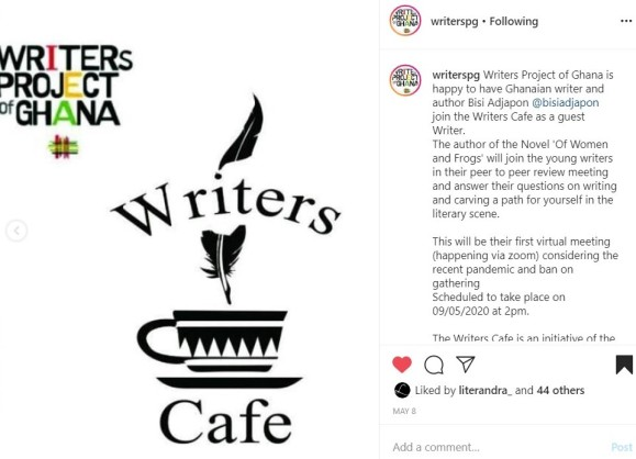 WPG Writers Cafe