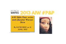 2013 AWPnP Warsan Featured