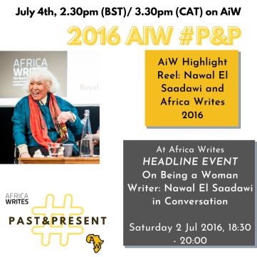 4 2016 AiW #P&p El Saadawi