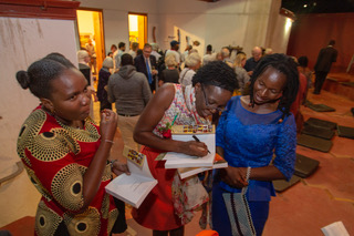 Guests with Valerie Tagwira