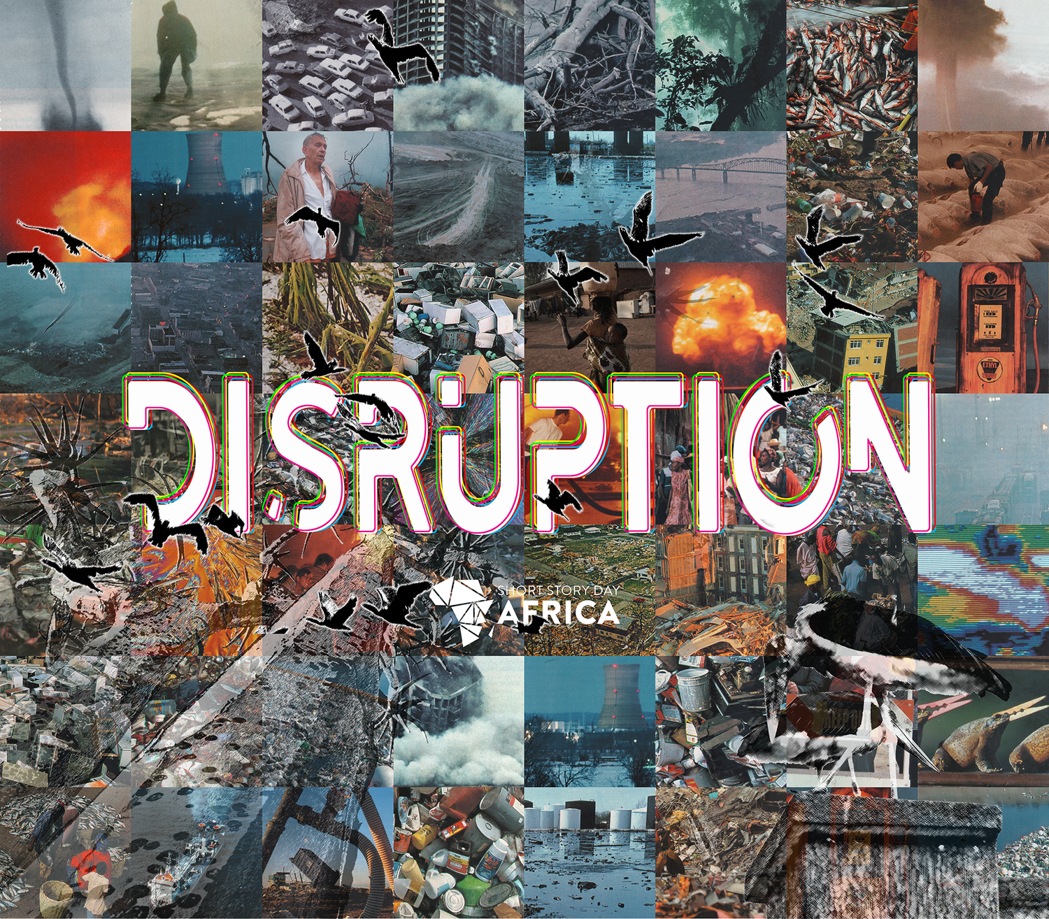 disruption+collage