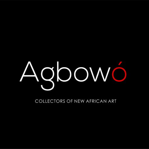 Agbowo logo on black background