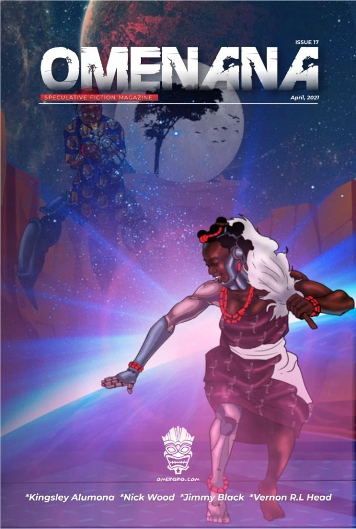 Omenana magazine issue 17 cover