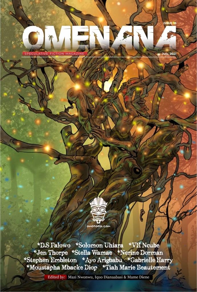 Omenana magazine issue 18 cover