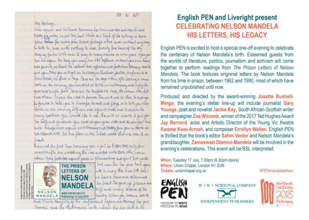 English pen and Liveright