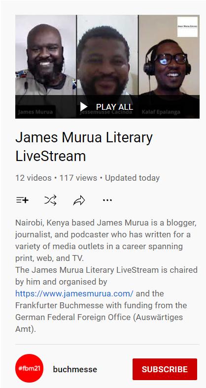 JamesMuruaLivestream_YouTube